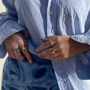 Säljer dessa snygga och trendiga ringar