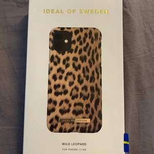 Ideal of sweden skal till iPhone xr/11 i leopard mönster🤍det har aldrig kommit till användning då jag har för många skal o ska snart byta telefon😊 priset kan diskuteras o göras om om vi räknar me frakten