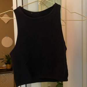 ett svart gulligt linne! minns inte exakt var jag köpte det men tror på zara!💕 tröjan är tajt men stretchig!
