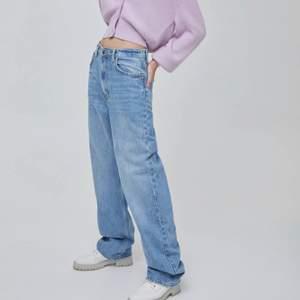 säljer oanvända jeans. är 164 och de är alldeles för långa! köp direkt för 200