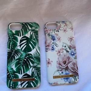 Till iphone 6/6s/7/8! Båda två är från ideal of sweden men som man ser på andra bilden så är dom lite söndriga i hörnen! Därav det extremt billiga priset! Men dom fungerar hur bra som hällst annars! Köparen står för frakten☺️20kr styck