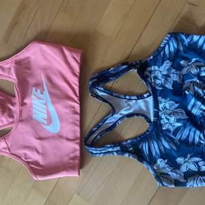Säljer dessa två sporttoppar! Den rosa är i s säljer för 90+ frakt! Och den blåa är i s och säljer för 40 + frakt