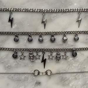 Kedjehalsband i rostfritt stål! + 12kr frakt! Ingår vid köp av två smycken eller mer! 💘