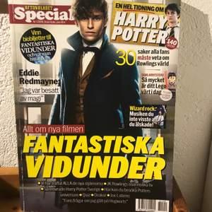 Specialtidning om Harry Potter och Fantastic Beasts som kom ut 2016 i samband med första Beasts-filmen.