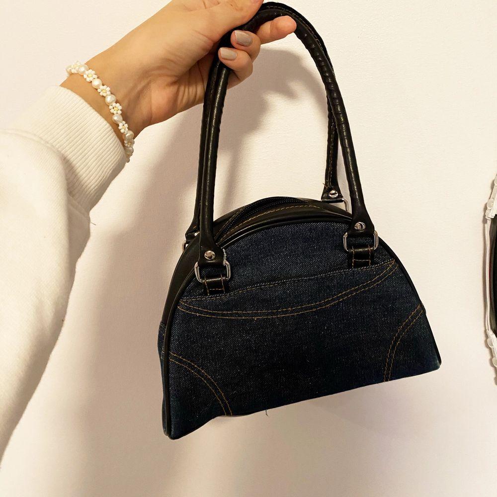 Ascool handväska i jeans material! ✨. Accessoarer.