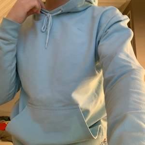 En jättefin ljusblå hoodie från stay!!