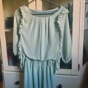 Mintgrön klänning från okänt märke, otroligt fin