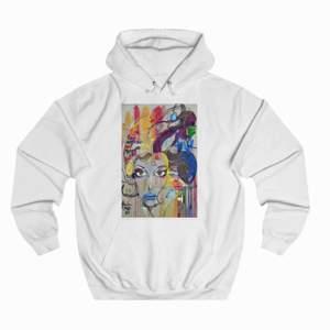Jättefin tröja från The Cool Elephant, trycket e lite borta efter ja tvättat den🌟