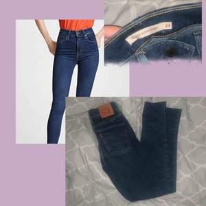 Säljer dessa Mile high super skinny! 💫 Använt dom en gång, men insåg att dom var för korta! Köpta för 1099! :)