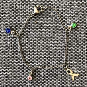Inte nöjd med designen på våra armband? För 20kr tillägg kan du byta ut stenarna till valfri färg! 15% går fortfarande till den bestämda välgörenheten💚 Kolla gärna in på vår hemsida som finns länkad i profilen på instagram för mer info (@charity.chains)🥳
