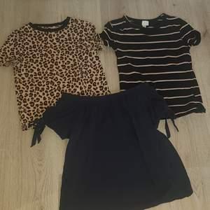 3 stycken tröjor, alla i bra skick. 1 för 40 alla för 100kr