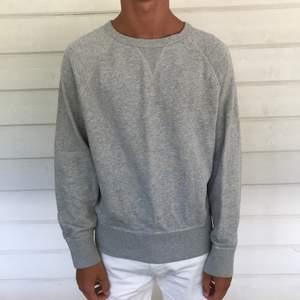 Grå sweatshirt från Acne, väldigt sparsamt använd!