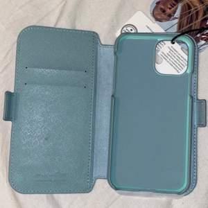 Helt nytt oanvänt plånboksfodral till iPhone 11Pro/Xs/X i fin mintgrön färg. Säljer pga köpte till fel telefon. 💚
