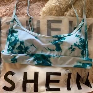 Helt ny bikini från shein, med lapp kvar. Helt oanvänd bara testad.