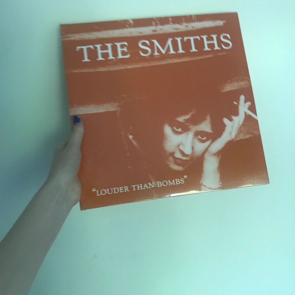Oöppnad vinyl, The Smiths, Louder Than Bombs. Kan mötas i Stockholm, kloten betalar frakt annars❤️❤️💃🏼❤️. Övrigt.