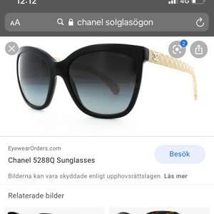 Säljer mina Chanel solglasögon. Det är AAA kopia och ser därav som äkta ut.