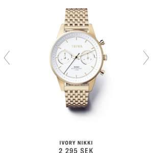 En helt ny oanvänd klocka. Nypris 2295kr, mitt pris 1500kr.