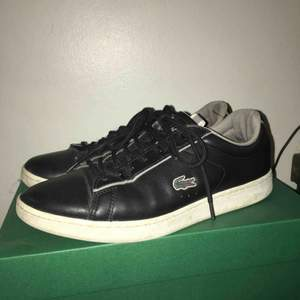 Black Leather shoes from Lacoste  They are as good as new
