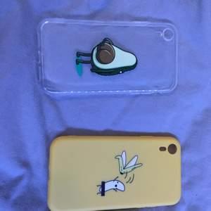 Mobilskal från SHEIN till en iPhone xr. Aldrig använda, inte ens provade. 50 kr styck. Kom privat om ni vill köpa annars kan man buda i kommentarerna. 😊 köparen står för frakt 22kr