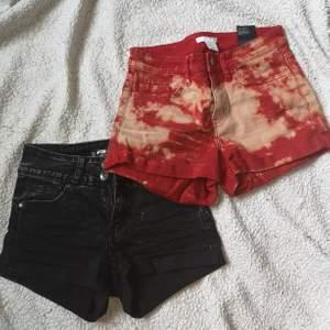 Säljer två par shorts i vintage stil. Använt en sommar några gånger men sparsamt använda och inga skador eller fläckar🥰