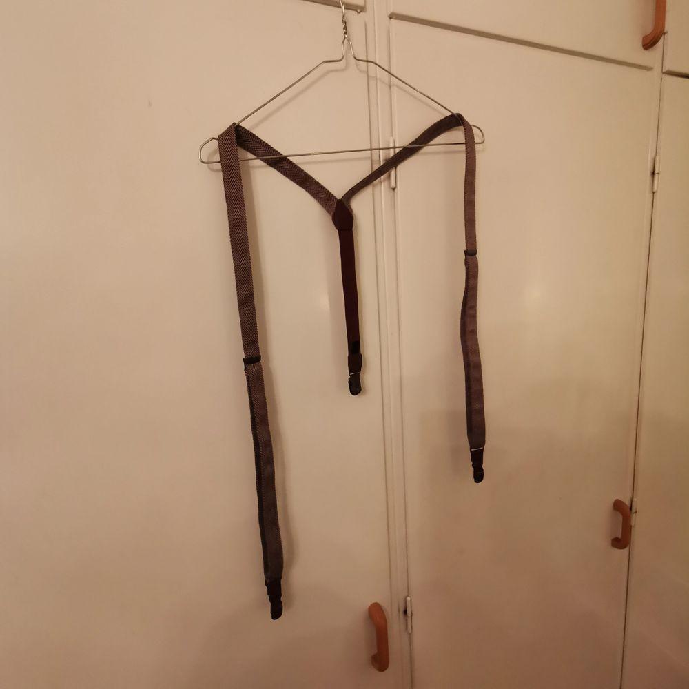 oanvända bruna inställbara hängslen, vintage stil   🧭INGEN FRAKT. Accessoarer.