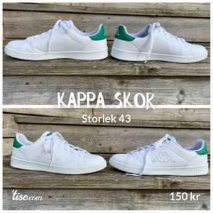 Skor från märket Kappa Storlek 43 🏃🏼  Bra skick - se bilder 📷   Skickar inom Sverige 🇸🇪  65kr 📦