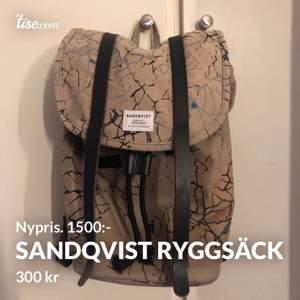 Super fin, vintage väska från Sandqvist! Buda!