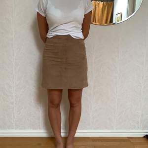 Jättefin mockaimiterad kjol från Indiska!