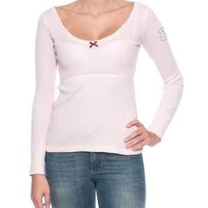 Säljer nu min odd Molly tröja i ljusrosa som är i storlek 1 som motsvarar xs/s. Den är så billiga pga att de är små hål på magen som har kommit när man har använt den innanför byxorna. Bilder på den riktiga tröjan finns om man är intresserad.