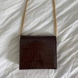 superfin och vintage inspirerad väska ifrån nakd! mycket sparsamt använd! köparen står för frakt 📦🤎