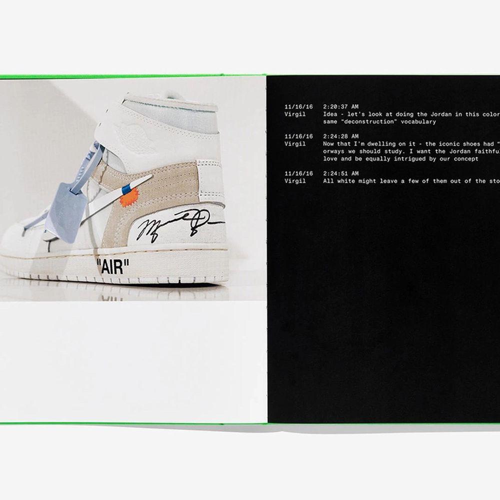 Limiterad utgåva av Virgil Abloh x Nike ICONS