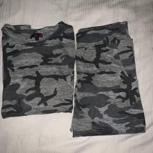 Mjukisset i camouflage, väldigt skönt och fint mjukisset✨ 100kr för båda delarna! Storleken är L men mer som en M