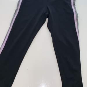 Tränings byxor som slutar lite nedanför vaden storlek S 60kr+frakt köparen står för frakten