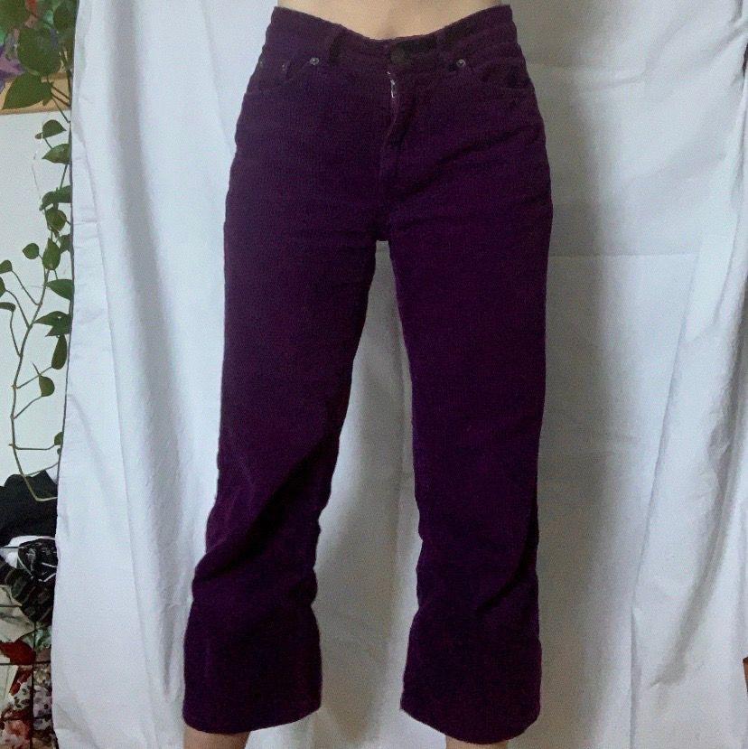 Otroligt snygga corduroy byxor som tyvärr inte kommer till användning🦋 toppen skick!. Jeans & Byxor.