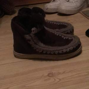 Original mou boots. Super warm. Coloe brown. Size 36. Original price 1200kr