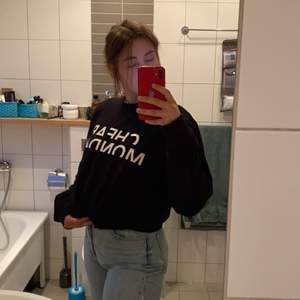 Svart sweatshirt från cheap monday!