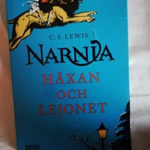 NARNIA - HÄXAN OCH LEJONET. 10kr+frakt😊😊