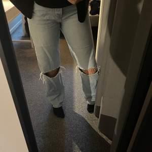 Trendiga Junkyard jeans! Säljer då de är alldeles för stora men super fina💓⚡️250 kr inklusive frakt🤛🏻