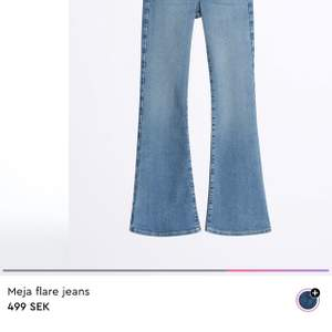 Säljer dessa snygga jeans från Gina använda 1-2 gånger. Nypris 499 kr