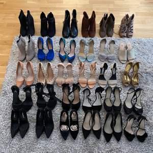 Håll utkik efter skor som snart läggs ut här på Plick🌸 Alla skor är inte med men hoppas ni tycker om något. Det mesta är oanvänt, min skostorlek är 37-38 💕