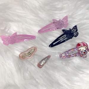 y2k baby hair clips. 30kr för alla <3