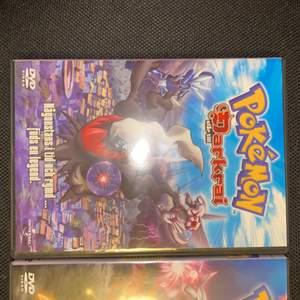 Pokémon filmer, bra skick, 30kr styck