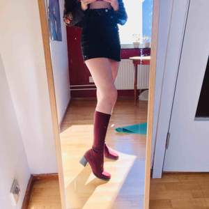 My ❤️ vintage under the knee boots, second hand  They feel perfect