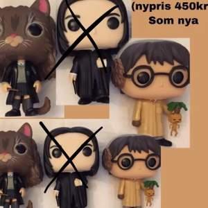 SNAPE SÅLD!! funko pop figurer Harry Potter 100kr + frakt Som nya! enbart stått som prydnad (Nypris 450kr)