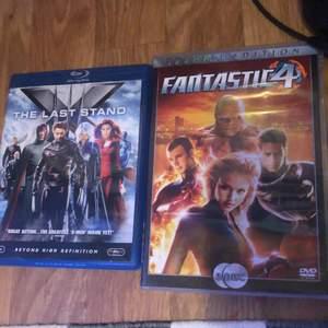 Två marvel filmer i gott skick, kan fraktas:) Båda för 20kr+ frakt och 10kr styck + Frakt
