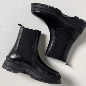 Nya Leathernecks boot från  PIECES  Selione Leather Boot size 39. De är slutsålda på Nelly. säljer för 900kr, aldrig använt!
