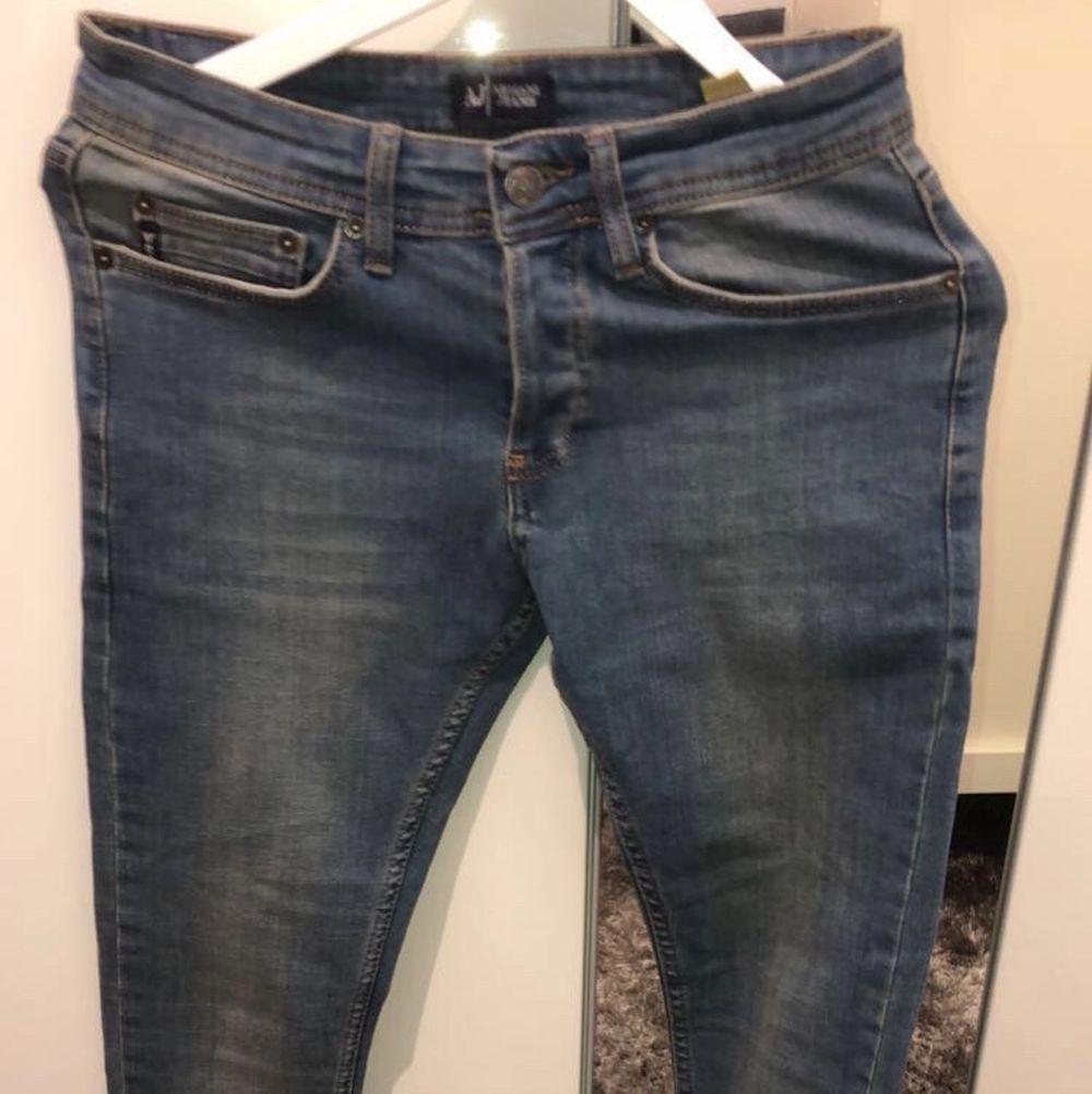 Äkta Armani Jeans. Helt ny o aldrig använd utomhus. Pris kan diskuteras . Jeans & Byxor.