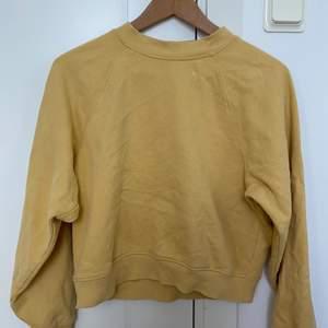 Fin gul tröja från Gina tricot i storlek xs, lite kort och liten i storleken så passar xs, xxs. Använd endast vid 2-5 tillfällen men inte mer. Fint skick och inget fel på den.  Hämtas i Göteborg eller skickas och då köparen betalar för frakten. Betalning sker via Swish. Kontakta vid intresse.💛