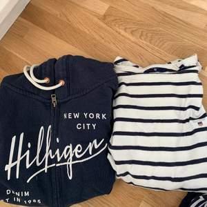 Hilfiger zip hoodie, Använd men fint skick. Storlek XS, ny pris 900kr. ‼️150kr‼️  Gant tröja, använd men fint skick! Storlek XS, ny pris 1000kr. ‼️150kr
