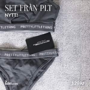 Grått underkläders-set från PLT. För litet för mig så helt oanvänt och felfritt skick! Riktigt skönt och bra tyg. Stl: XXS. Köparen står för frakt!
